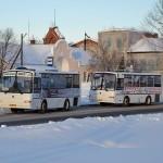 Тобольские автобусы очистят от наружной рекламы и покрасят в единый цвет