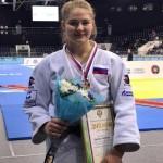 Любовь Орлова завоевала бронзу первенства России по дзюдо