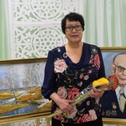 В Тобольске чествовали художницу Розу Аминову