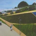 Железная дорога, трехуровневая набережная и рыбная ферма. Каким будет новый парк Тобольска