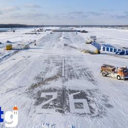 Ростехнадзор: взлетно-посадочная полоса тобольского аэропорта соответствует всем требованиям