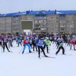 «Лыжня России»  в Тобольске в 15 фотографиях и одном видео
