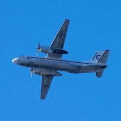Над аэропортом Тобольска пролетел первый самолет. Фото