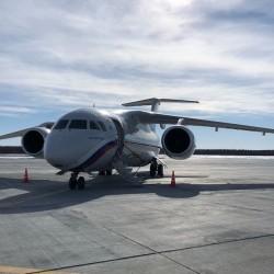 В Тобольске завершены работы по благоустройству аэропорта