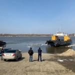 В Тобольске начал курсировать паром через Иртыш