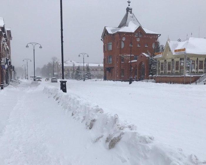 снега дох