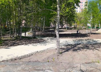 В десятом микрорайоне Тобольска появится новый парк