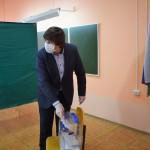 Глава Тобольска Максим Афанасьев проголосовал по поправкам в Конституцию