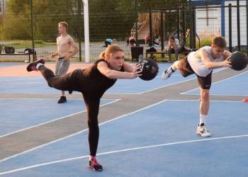 Необычные тренировки. В Тобольске скрестили баскетбол с кроссфитом