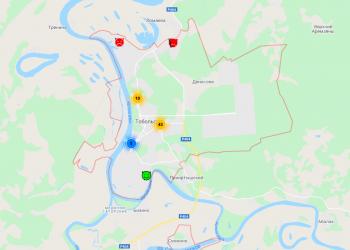 Тоболяки могут отметить на интерактивной карте требующие преобразований места