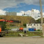 Поспешная реконструкция Базарной площади уничтожила большой объем культурного слоя старого Тобольска