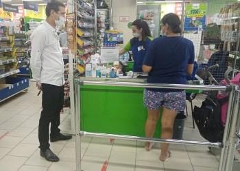 В семи магазинах Тобольска выявлены нарушения масочного режима