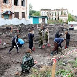 Археологи обнаружили на улице Мира остатки жилой усадьбы 18 века