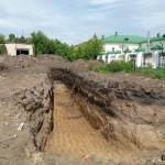 Археологи обнаружили возле Спасской церкви фундамент сооружений 18 века