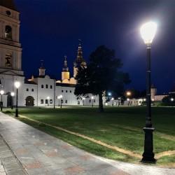 В тобольском кремле установят новые фонари