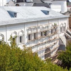 Ремонтные работы в кремле завершат этой осенью