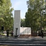 В Тобольске открыли сквер Речников. Фото