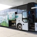 Работников СИБУРа из города на предприятие возят на экологичных автобусах