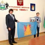 Флаг Тобольска побывал на антарктической станции «Беллинзгаузен»