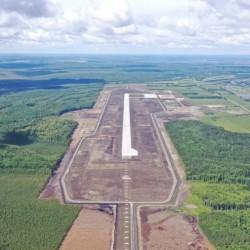 На площадке тобольского аэропорта идет строительство аэровокзала