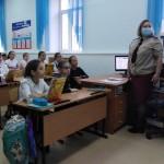Тобольским школьникам рассказали о профилактике коронавирусной инфекции