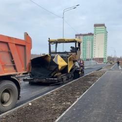 Новые дороги обустраивают в 15 микрорайоне Тобольска