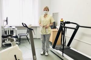В Тобольской больнице появился кардиологический комплекс с беговой дорожкой