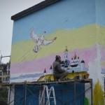 На Базарной площади появится стрит-арт с Александром Алябьевым