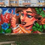 Во дворах Тобольска появилось пять новых арт-объектов. Фото