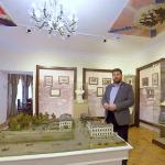 Правнук личного повара царя провел виртуальную экскурсию по тобольскому музею