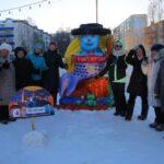 25 сказочных фигур из снега украсили площади Тобольска