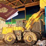 На заводе в Тобольске среди мусора нашли паспорт