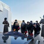 Тоболяки почтили память воинов, погибших на полях сражений