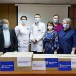 Тобольские депутаты подарили врачам медицинское оборудование