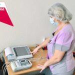 В детской поликлинике появился новый электрокардиограф
