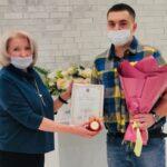 В Тобольске поздравили семью первого малыша 2021 года