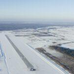 На территории будущего аэропорта продолжается строительство терминала