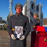 Церемония передачи останков красноармейца Михаила Балина состоялась в Тобольске