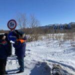 Грузоподъемность ледовой переправы в Тобольске снижена до пяти тонн