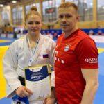 Любовь Орлова выиграла бронзу на соревнованиях по дзюдо в Санкт-Петербурге
