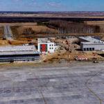 В Тобольске продолжается строительство аэропорта. Он готов на 60 процентов