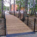 Тоболяки выберут название для мостика в сквере Михайлова