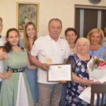 Тобольская семья отметила бриллиантовую свадьбу