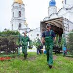 Вкремле высадили шесть тысяч цветов