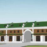 В здании «Промышленные товары» на Базарной площади восстановят арку